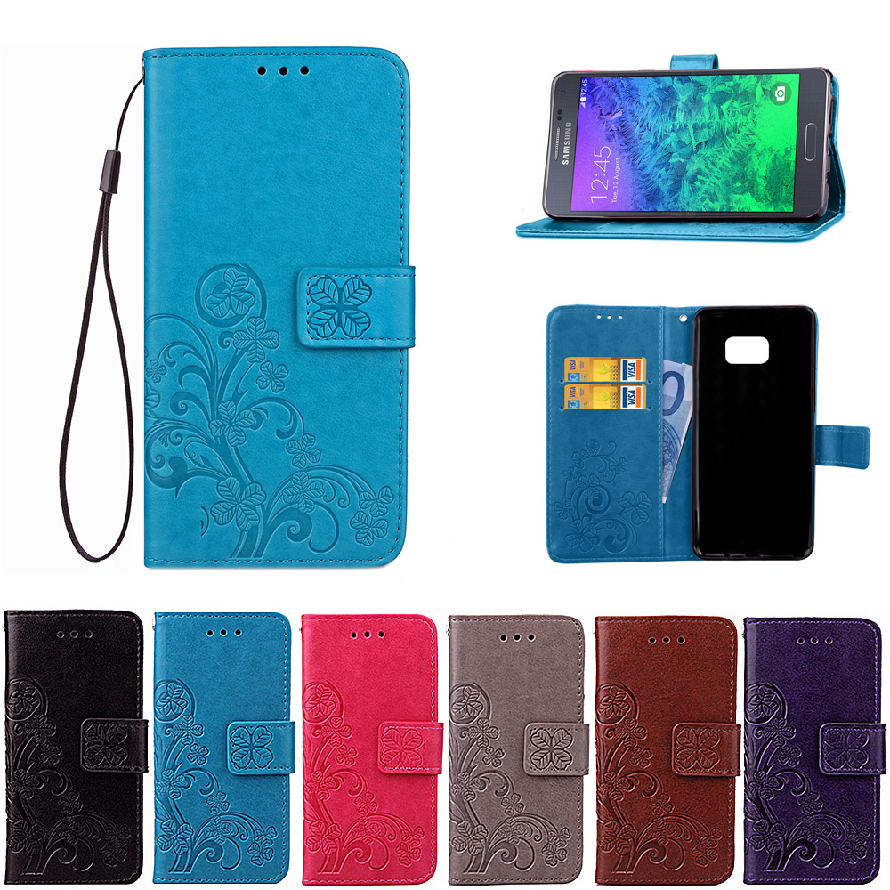 Taoyunxi Telfono Caso Para Samsung Galaxy Alpha Casos Silicona G850 Flip Wallet Pu Leather Case For G850f G8508s Cover Card Slot Phone Cases
