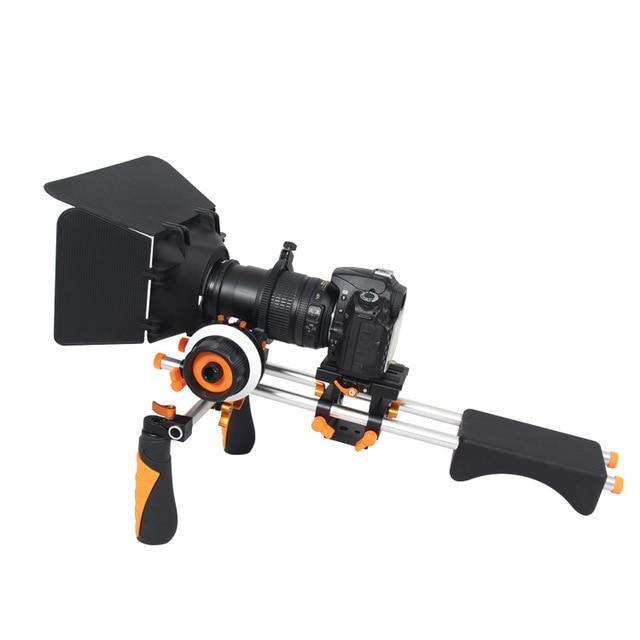 Handgrip Holder DSLR Rig Shoulder Mount Movie Kit Set Camera Stabilizer Dslr Rig Easy For Shooting Camera for canon 5diii 5dii new professional dslr rig shoulder mount