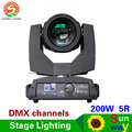 200W 5r Sharpy Beam Moving Head Light pro stage lighting 16 DMX channels led moving head lights