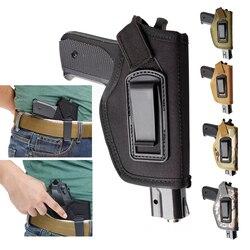 Étui Vapanda pour pistolet à l'intérieur de la ceinture étui de pistolet de transport dissimulé IWB GLOCK 17 19 22 23 32 33 étui en Nylon Ruger