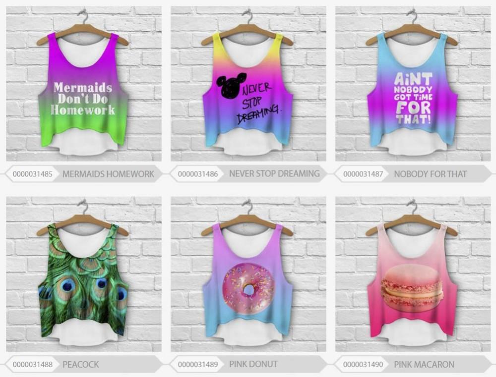 HTB1A8wDHpXXXXaLXFXXq6xXFXXXx - multicolor T-Shirts 3D Print women tank tops girlfriend gift ideas