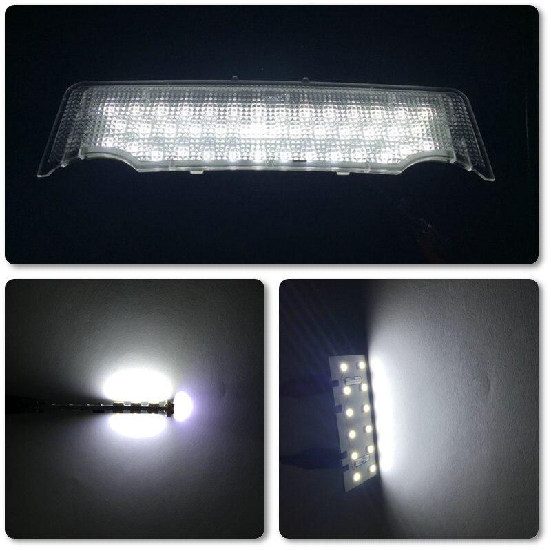 Led спереди куполообразная крыша свет лампы для Bmw E70 07-09 салона Чтение свет подсветка косметического зеркала для Bmw E70 5 шт./компл. белый