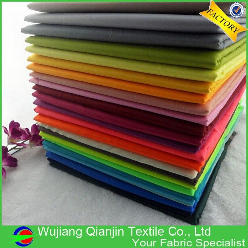 Polyester Taffeta Fabric Polo-matný hladký měkký vysoce kvalitní pro sako podšívka