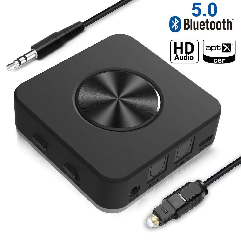 Tragbares Audio & Video Das Beste Drahtlose Bluetooth 5,0 Csr8675 Aptx Hd Niedrigen Latenz Adapter Optische Spdif Aux Stereo 3,5mm Audio Tv Sender Lautsprecher Empfänger