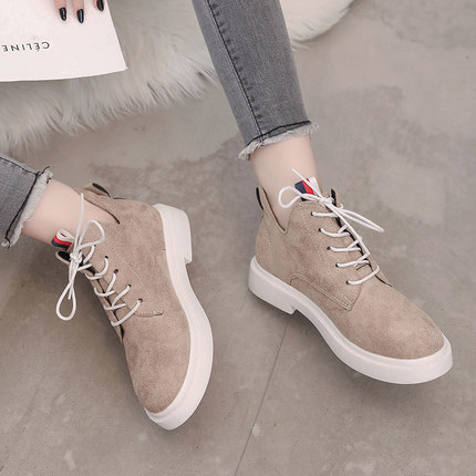 New single casual high-top round ankle boots 54