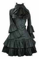 Palace LOLITA Dress Academy Vintage Gothic Long Sleeve Spring Dress Academy Style Party Show Dress
