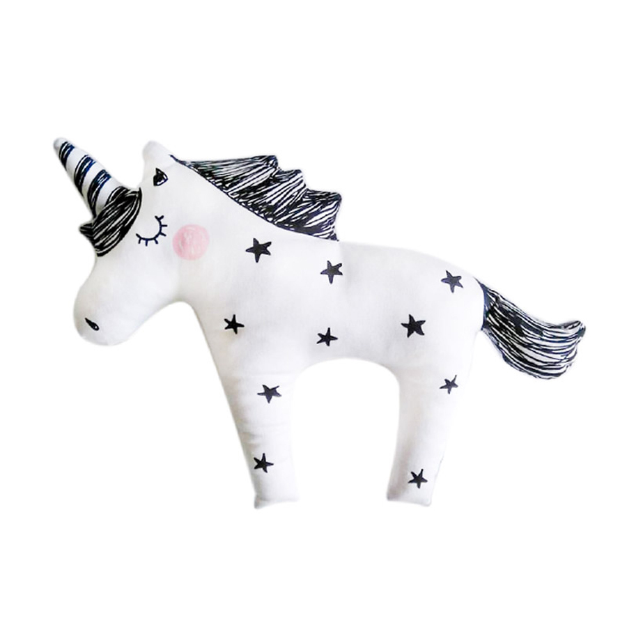 Baby Toy Sleep Plush Soft Animals Stuffed Toys Unicorn Girl Birthday Gift Pluche Knuffels Horse Toy Licorne Animal Pillow 60G612 hot sale cute dolls 60cm oblong animals pillow panda stuffed nanoparticle elephant plush toys rabbit cushion birthday gift