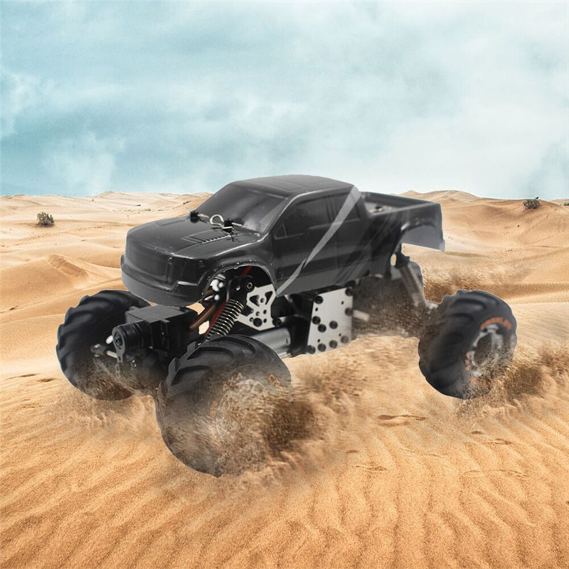 2018 1:24 2.4G High Speed RC Racing Remote Control Truck Off-Road Buggy Vehicle Toys Battery-Powered Toys For Child B2 цены