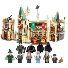 Купить с кэшбэком 16030 1340Pcs Model building kits Compatible with Lego 4842 The Hogwarts Castle Creative Movies 3D Bricks figure toys