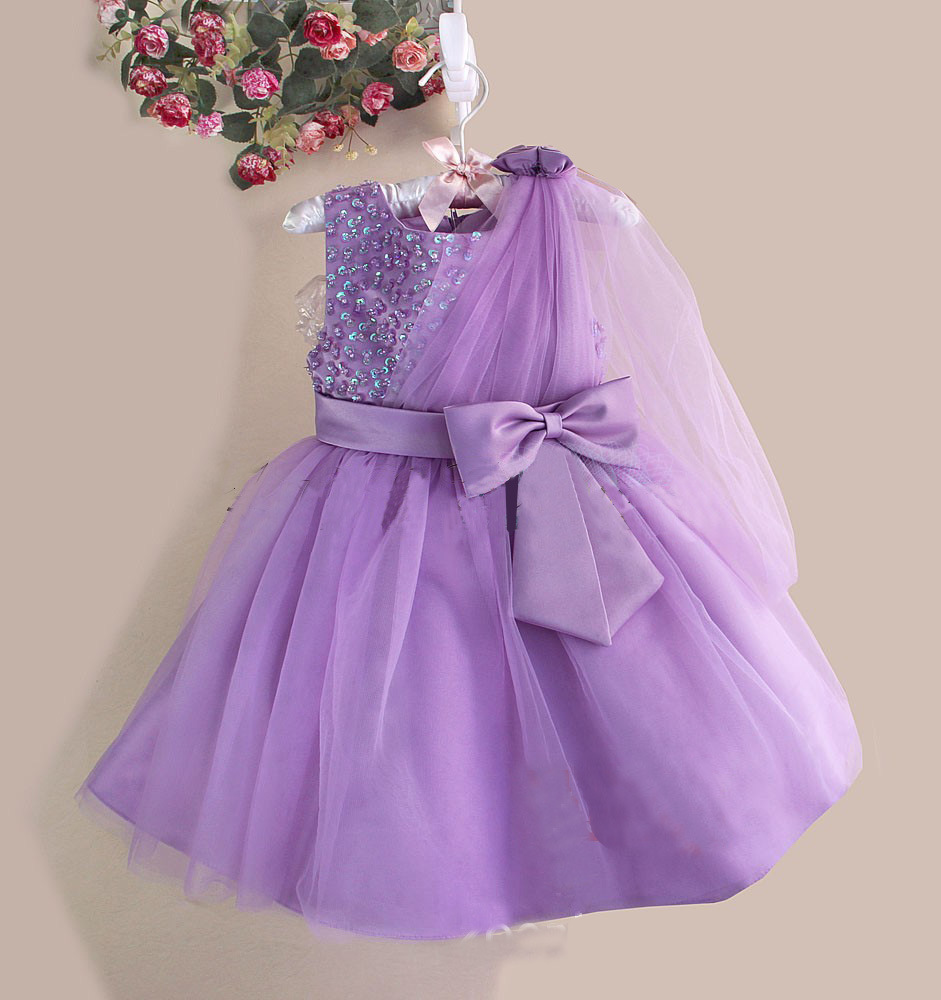 2017 New Princess Baby Girls Dress, Child Wear Wedding Pageant ...