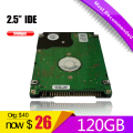 HDD 120G IDE 2.5 hard disk for old Laptop Notebook Computer FreeShipping