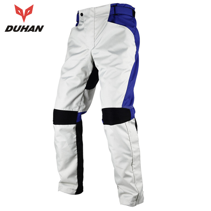 DUHAN Cold-proof  Motorcycle Hip Protector Long Pants Motocross Off-road Racing Pants Trousers Knight  Pants for Men
