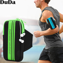 Mobile Phone Arm Band Hand Holder Case Gym Outdoor Sport Running Pouch Armband Bag For 5-5.8 inch iphone 6s x 7 plus 8 6 rotatable running bag phone arm case waterproof armband sport wrist bag belt key holder pouch for samsung iphone 8 x 4 6 inch
