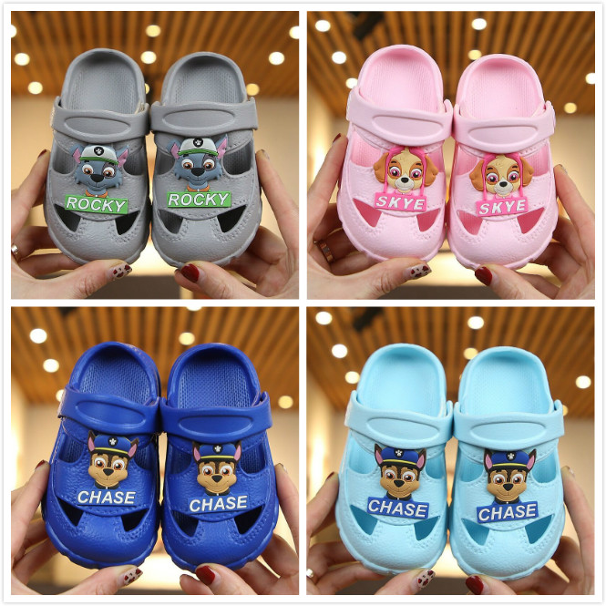 2020 New Arrival 1pairs Genuine Paw Patrol Puppy Patrol KIDS SUMMER SLIPPER Patrulla Canina Toy Children Toy Gift Hot Sale