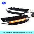 Car DRL Kit for Mercedes-Benz B200 W246 B180 2011-2013 LED Daytime Running Light Bar auto fog lamp daylight  car led drl light