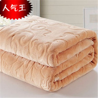 Chaorou Four Seasons Fala Flannel Wool Blankets Solid Color Multi Purpose Blankets