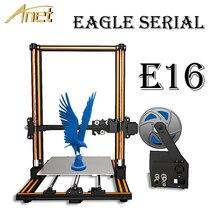 Anet Eagle серийный E10 E12 E16 3d принтер Высокая точность Reprap Prusa i3 DIY принтер большой размер печати 300*300*400 мм 3d принтер