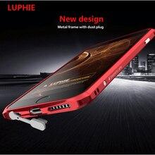 Luphie Phone Cases For iPhone 6 6s 4.7 / Plus 5.5 Ultra Thin Slim Rapier Fashion Shape Metal Aluminum Bumper Luxury Phone Case