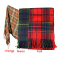 Hot Marketing New Women Winter Infinity Blanket Oversized Shawl Plaid Check Tartan Scarf Wrap May4