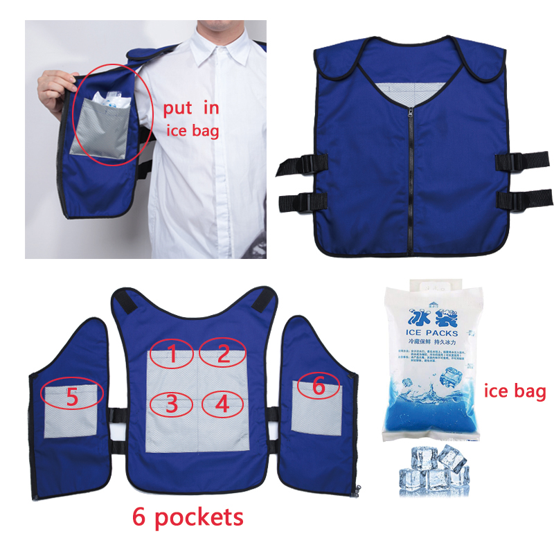 Image 2 - cooling vest Special clothing Outdoor fishing cooling clothing