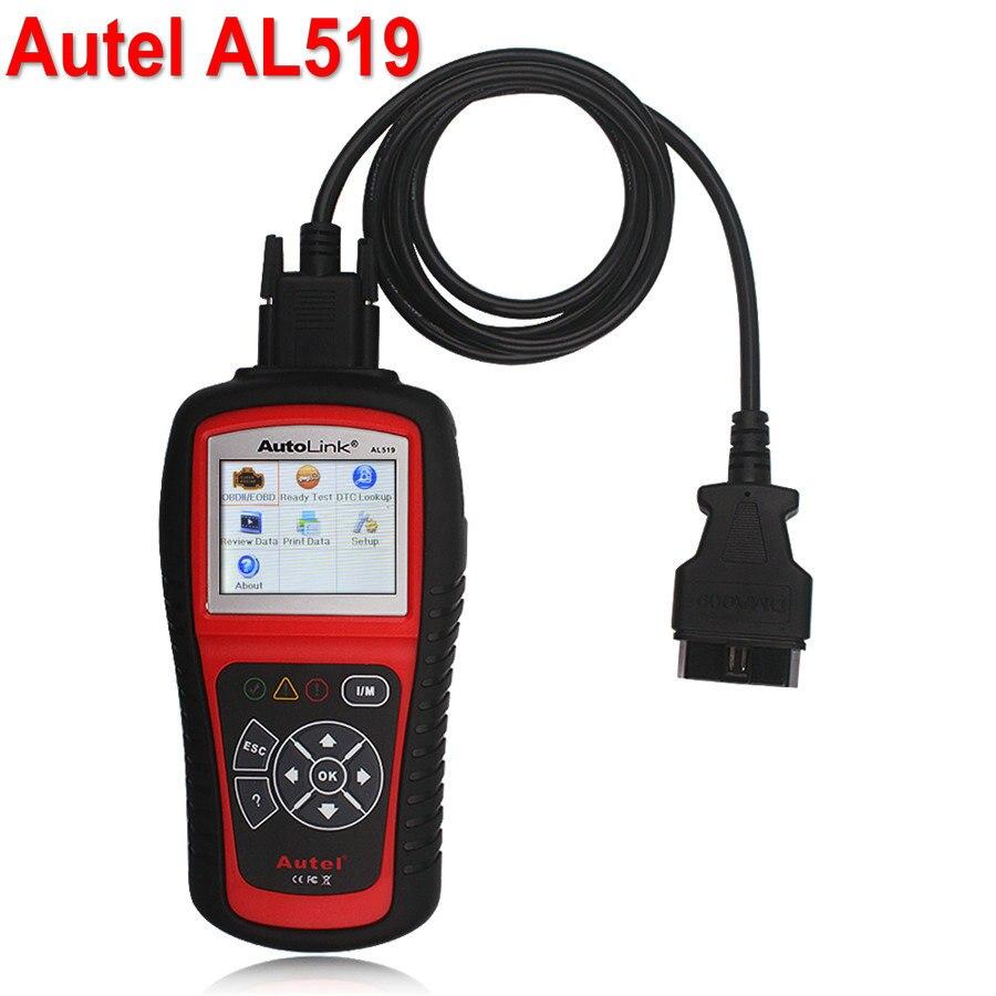 Autel AutoLink AL519 Auto Code Reader OBD II CAN Scan Tool al 519 Retrieves generic Turns