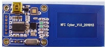 US $425 0 |NFC RFID reader development board evaluation board development  kit supports PN544-in Memory Card Cases from Computer & Office on