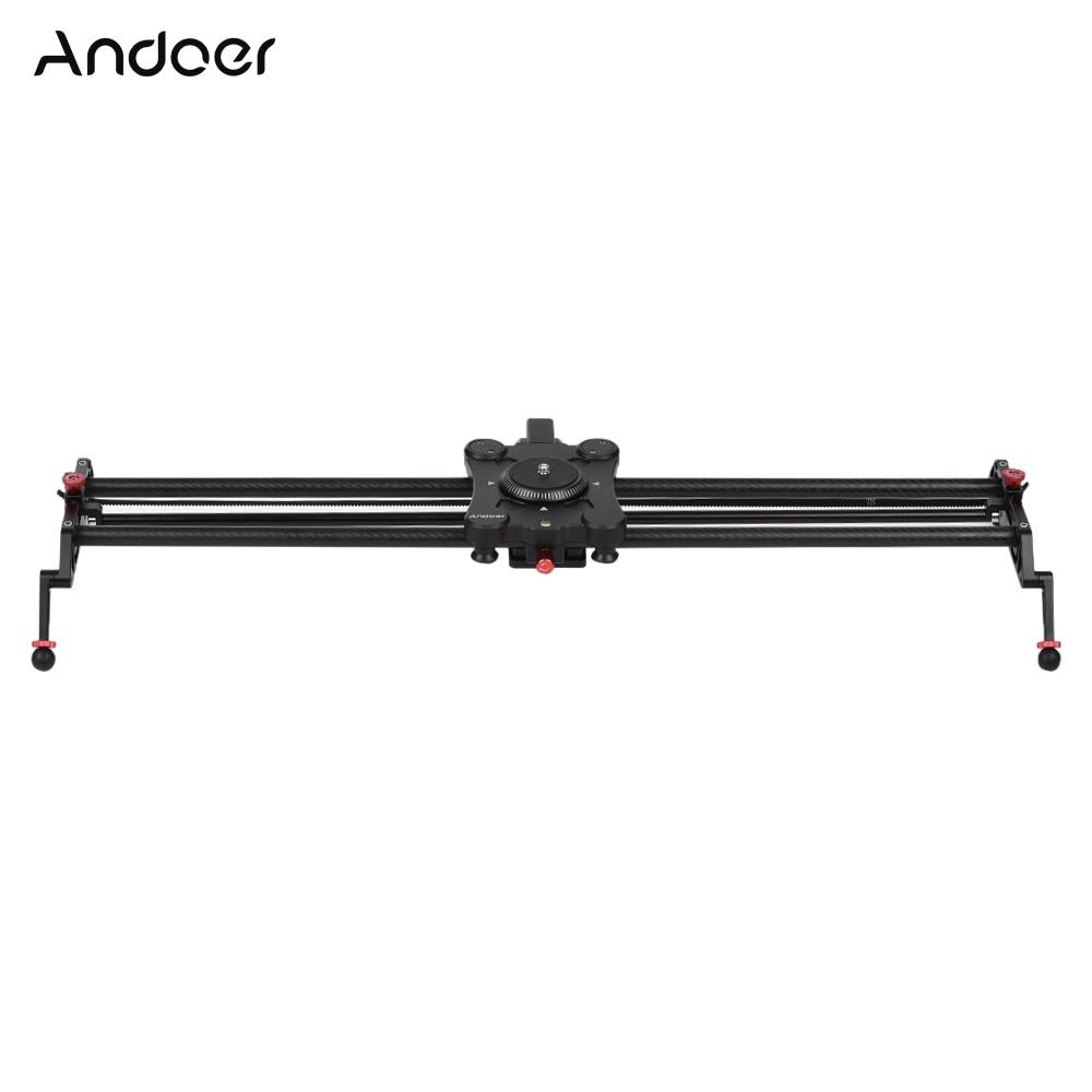 Andoer GP 80QD 80cm 2 6ft Time Lapse Video Shot Carbon Fiber Motorized Camera Track Slider