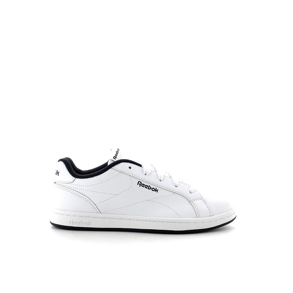 REEBOK Child shoes Unisex REEBOK ROYAL COMPLETE CLN, free and Time sportwear, White Collegiate Navy No Texture Toe