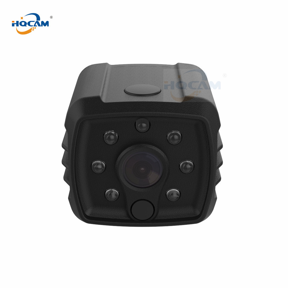HQCAM 720P WIFI Mini IP Camera Night Vision Motion Detect Mini Camcorder Loop Video Recorder Built-in Battery Body Camera hqcam 720p wifi wireless mini ip camera night vision motion detect mini camcorder loop video recorder built in battery body cam