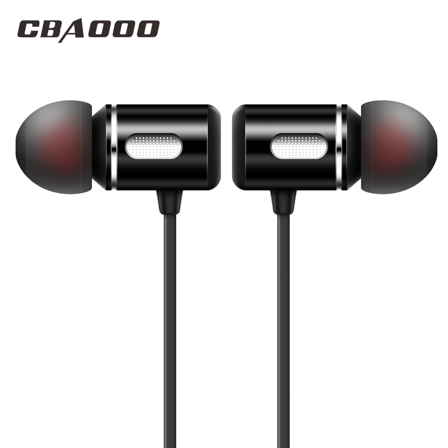 CBAOOO C10 In-Ear Bluetooth Earphone Headphones Wireless Bluetooth Headset Bass Neckband Sports Earpiece With Mic For Phone