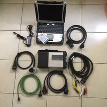 DHL free! MB Star C5 SD Conenct c5 with laptop cf19 Toughbook diagnostic PC with software V2016.12 hdd for sd c5 directly to use(China (Mainland))