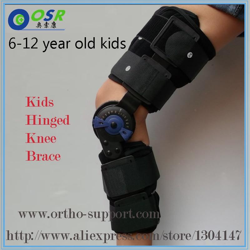 Djeca Post Op Hinged koljena podupirači ROM Medicinska osteartritska - Zdravstvena zaštita - Foto 2