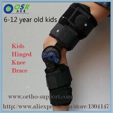 Niños post-op rodilla articulada llaves rom artrosis médica ayuda de la rodilla para los niños con cerradura para caminar por and sports