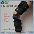 Niños Post-op Rodilla Articulada Llaves ROM Artrosis Médica Ayuda de La Rodilla Para Los Niños Con Cerradura Para Caminar Tendido Y Deportes