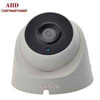 CCTV AHD Camera 1 0MP 1 3MP 2 0MP 720P 960P 1080P 3pcs Array LEDS Security