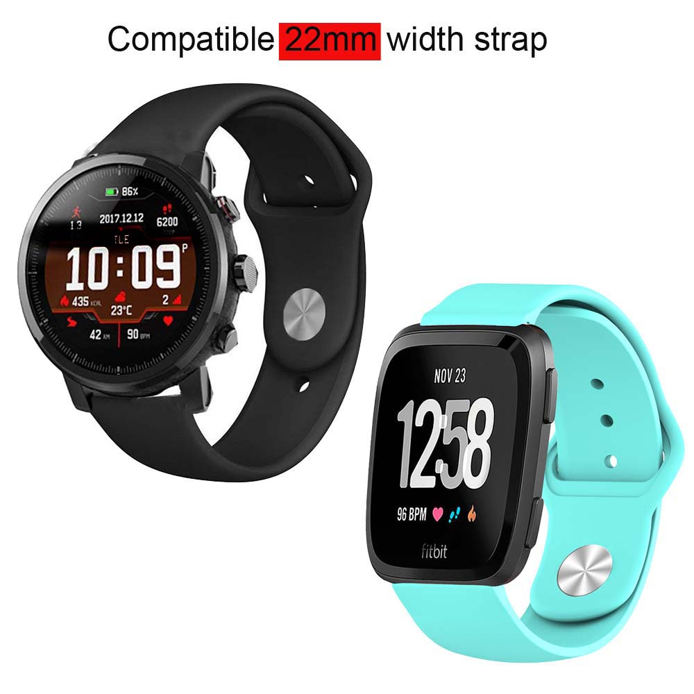 22mm Bracelet Strap For Xiaomi Amazfit GTR 47mm Pace Stratos WatchStrap For Samsung Gear S3 Galaxy 46mm Watch Band For Huawei GT