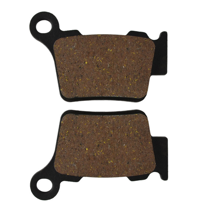 Motorcycle Rear Brake Pads for KTM EXC-F 250 XC-W 250  EXCF 250 XCW 250 2006-2010 SX250 2003-2008 motorcycle front and rear brake pads for ktm exc r450 2008 sx f 450 usd 2003 2008 xc f xcr w 450 2008 black brake disc pad