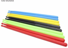 high quality colorful drumstick nylon drum accessories black drumsticks drum parts