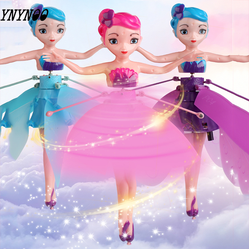 Mini RC Toys Dolls Light-Suspension Drone-Girl Gift Induction Fairy-Magical Princess