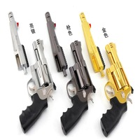 Toy Guns Smith Wissen M500 model metal double barrel removable and non launching toy gun 1:2 metal texture model #75