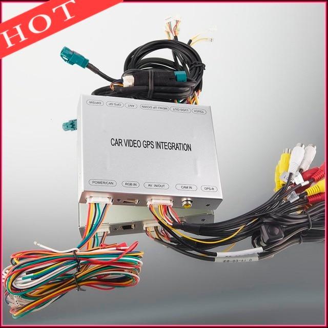 adapter for audi a4 a5 a6 a7 a8 q5 q7 car navigation system rh aliexpress com