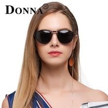 Donna женщин поляризованных солнцезащитных очков панк Пилот Зеркало Солнцезащитные очки Модные женские брендовые Дизайн авиаторы уникальный Стиль D110