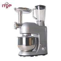 ITOP Multifunction Food Mixers Meat Grinder Noodles Maker Juicer Vegetable Fruit Blender 5.2L Mixing Bowl 1.5L Juicer Cup