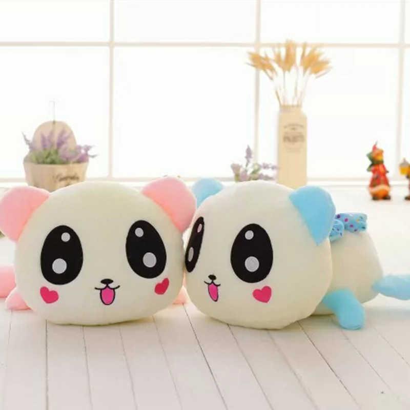 Светящаяся плюшевая лежа животные игрушка мягкая игрушка; медведь собака панда мягкие освещенные плюшевые куклы для детей ночной компаньон плюшевые игрушки