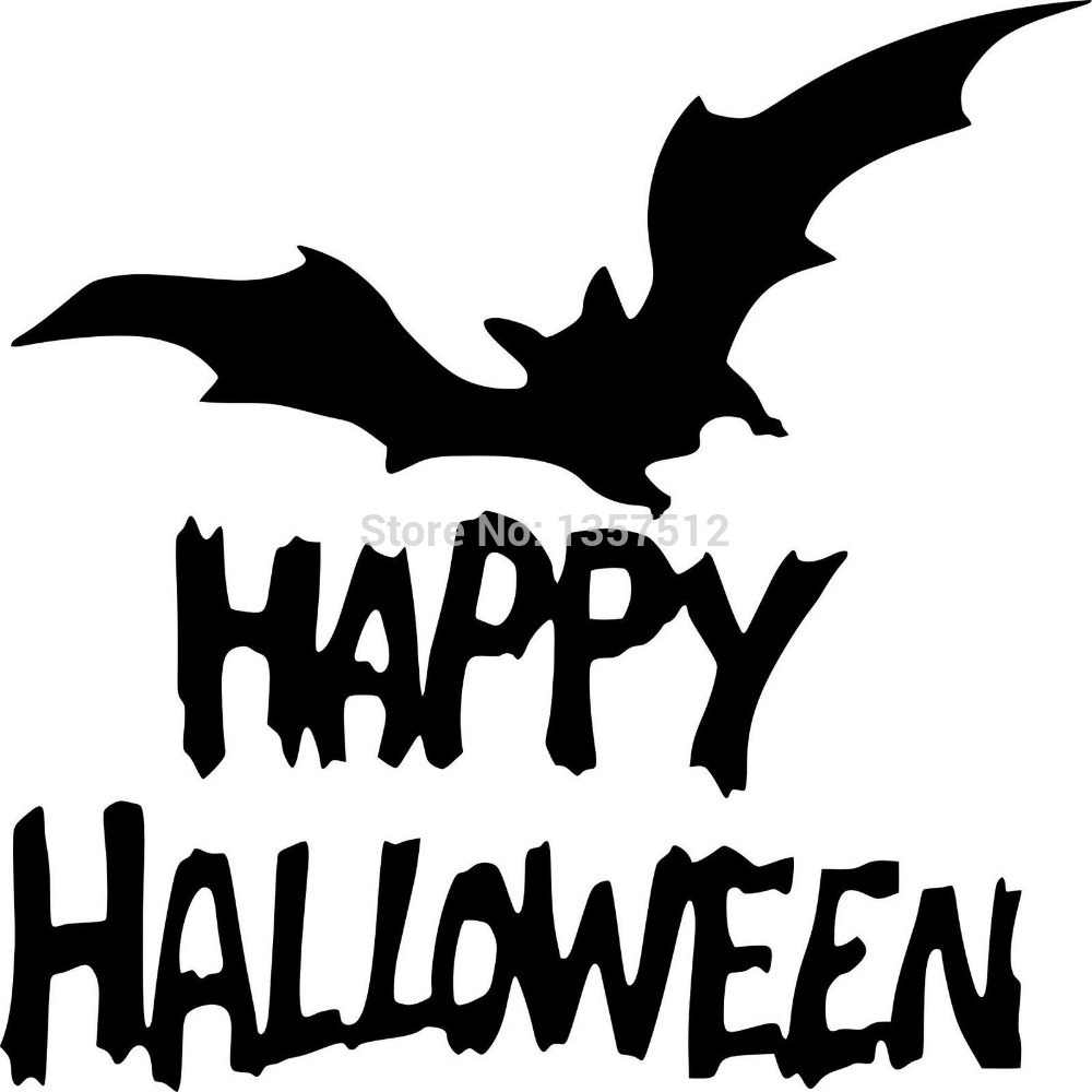 wholesale 5pcs10pcs20pcslot happy halloween car sticker for truck window bumper - Happy Halloween Stickers