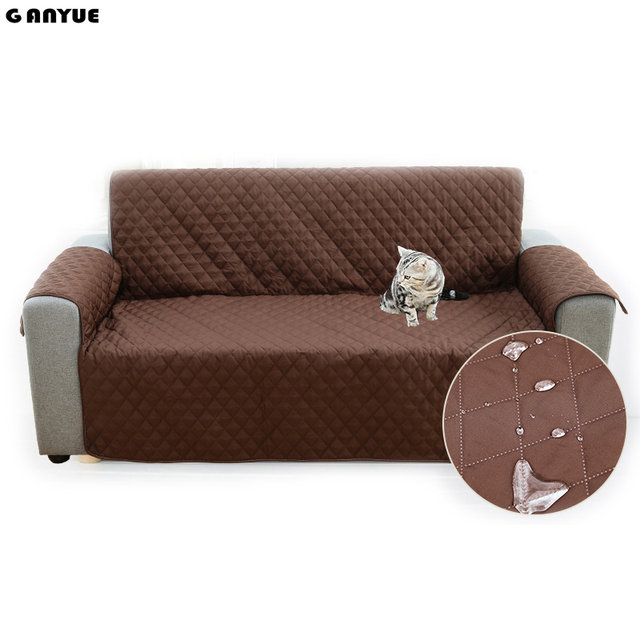 Ganyue Nonslip Sofa Cover Protector For Kids Dog Cat Pets Furniture Loveseat Waterproof Seater Chair