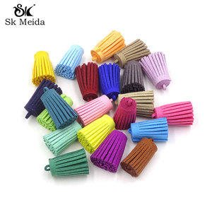 50Pcs Tassels For Jewelry Diy Suede Tassel Schmuckherstellung Earrings Parts Keychain Cellphone Accessories Material Bisuteria