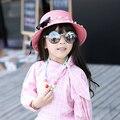 Новая Мода Лук Соломенные Шляпы Лето Ребенка Мама Родитель-ребенок Шляпа Женщин Девушки Твердые Дети Подарочные Пляж Головные Уборы Chapeau Femme 3102