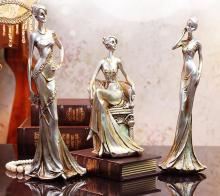 13*12*35CM Beauty creativity Female mannequin body home crafts decorations ornaments Wedding clothing store Resin 1PC A166
