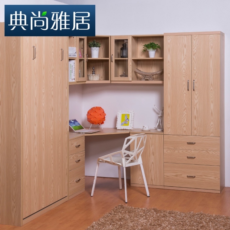 Custom furniture Children\'s corner desk combination bookcase ...